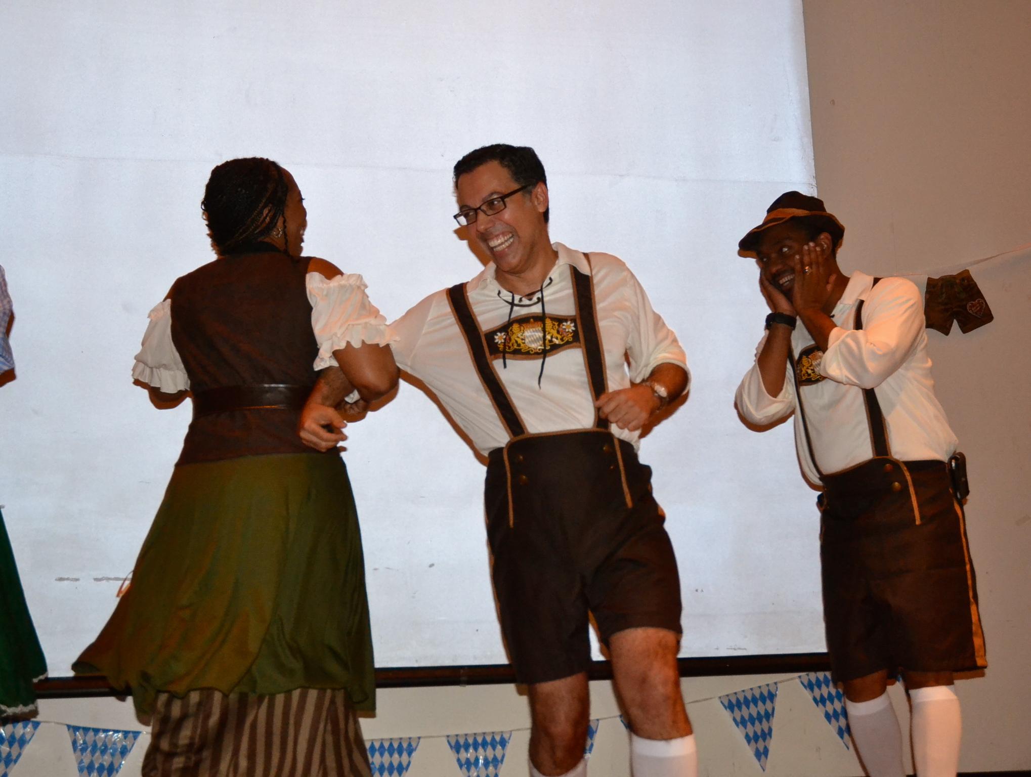 Oktoberfest dancing
